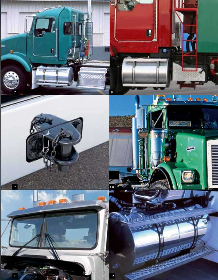 kenworth T800-features
