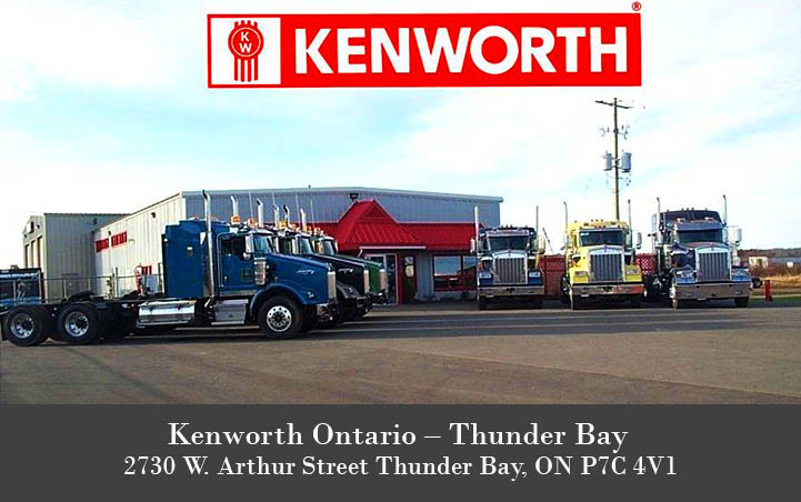 Kenworth Ontario - Thunder Bay